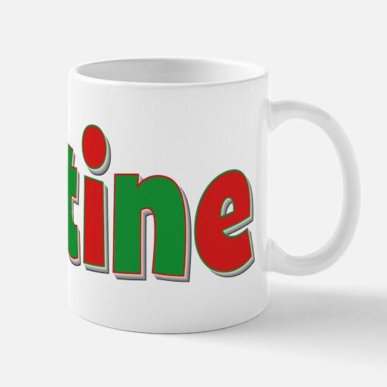 Justine Christmas Mug