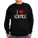 I love science Sweatshirt (dark)