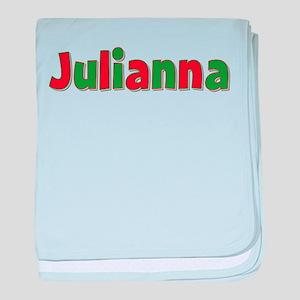 Julianna Christmas baby blanket