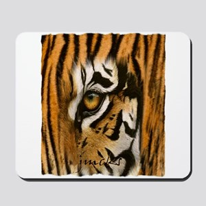 tiger eye art illustration Mousepad