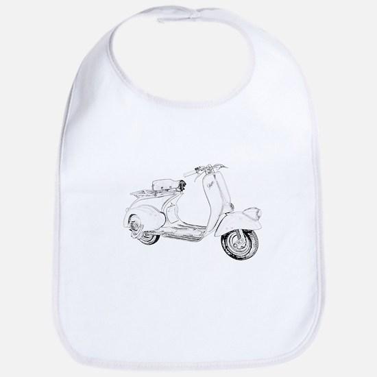 1949 Piaggio Vespa scooter Bib