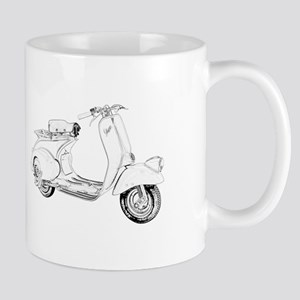 1949 Piaggio Vespa scooter Mug