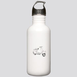 1949 Piaggio Vespa scooter Stainless Water Bottle