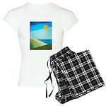 Green Fields Blue Waters Women's Light Pajamas