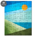 Green Fields Blue Waters Puzzle