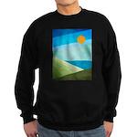 Green Fields Blue Waters Sweatshirt (dark)