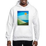 Green Fields Blue Waters Hooded Sweatshirt