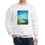 Green Fields Blue Waters Sweatshirt
