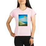 Green Fields Blue Waters Performance Dry T-Shirt