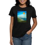 Green Fields Blue Waters Women's Dark T-Shirt