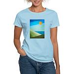 Green Fields Blue Waters Women's Light T-Shirt