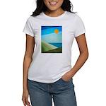 Green Fields Blue Waters Women's T-Shirt