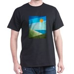 Green Fields Blue Waters Dark T-Shirt