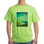 Green Fields Blue Waters Green T-Shirt