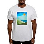 Green Fields Blue Waters Light T-Shirt