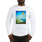 Green Fields Blue Waters Long Sleeve T-Shirt