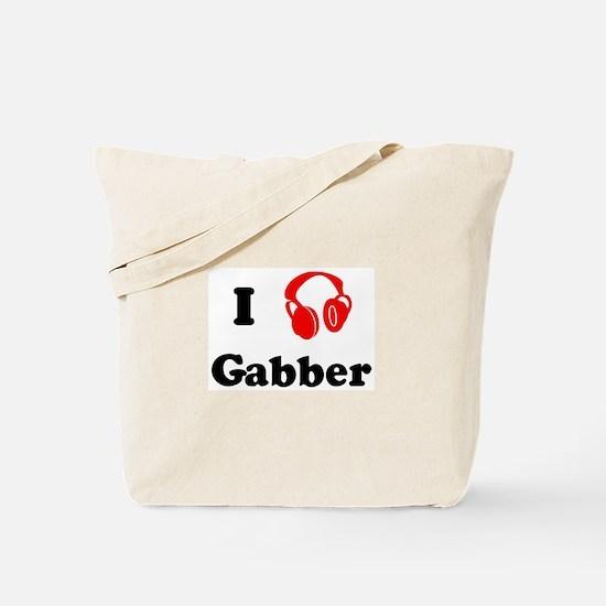 Gabber music Tote Bag