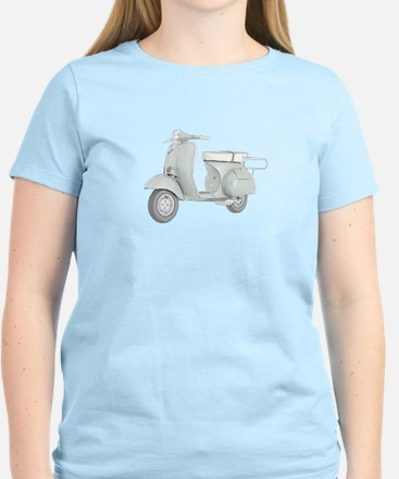 1959 Piaggio Vespa Women's Light T-Shirt