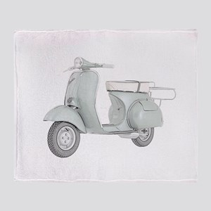 1959 Piaggio Vespa Throw Blanket