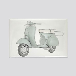 1959 Piaggio Vespa Rectangle Magnet