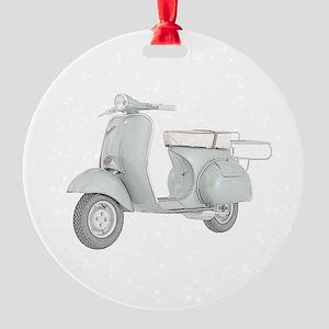1959 Piaggio Vespa Round Ornament