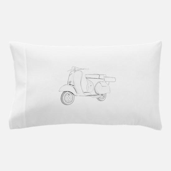 1959 Piaggio Vespa Pillow Case
