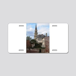 Charleston SC Church Aluminum License Plate