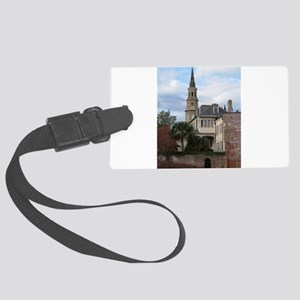 Charleston SC Church Large Luggage Tag