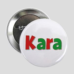 Kara Christmas Button