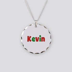 Kevin Christmas Necklace Circle Charm