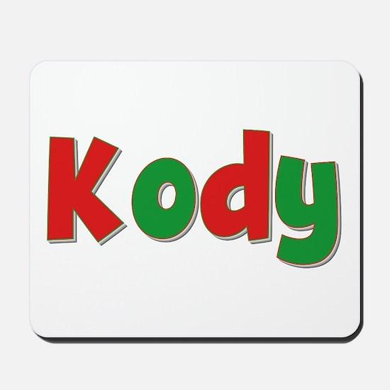 Kody Christmas Mousepad