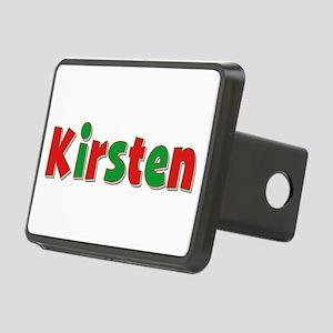 Kirsten Christmas Rectangular Hitch Cover