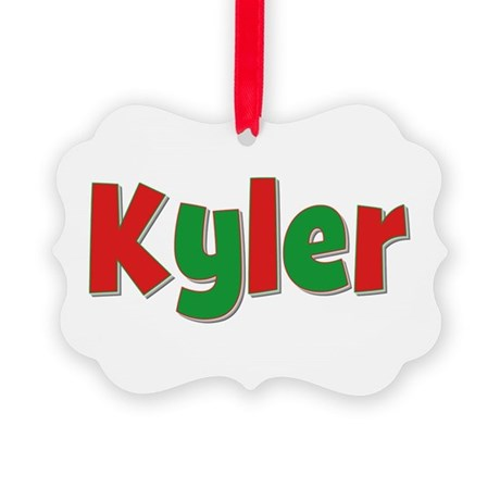 Kyler Christmas Picture Ornament