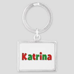 Katrina Christmas Landscape Keychain