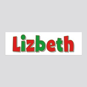 Lizbeth Christmas 36x11 Wall Peel