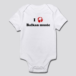 Balkan music music Infant Bodysuit
