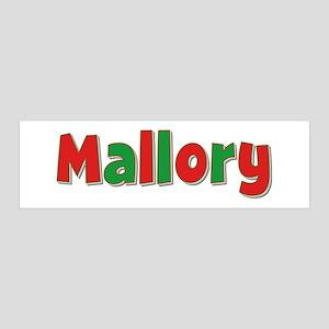 Mallory Christmas 36x11 Wall Peel