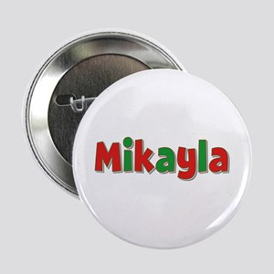 Mikayla Christmas Button