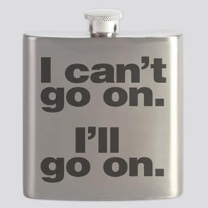 I can't go on Flask