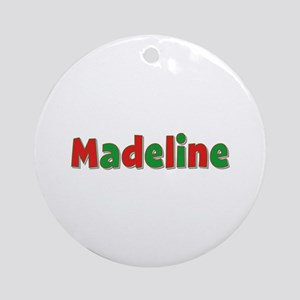 Madeline Christmas Round Ornament