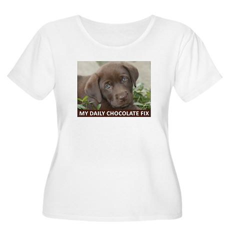 Zoe Women's Plus Size Scoop Neck T-Shirt