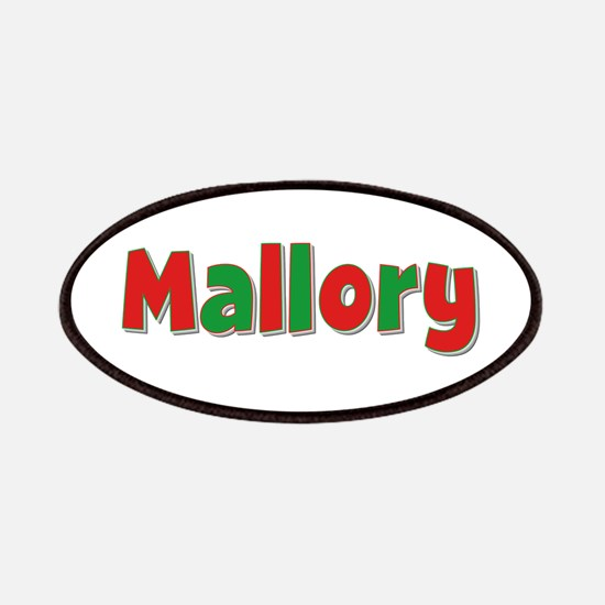 Mallory Christmas Patch