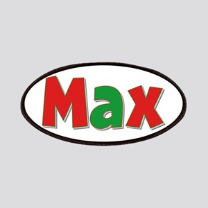 Max Christmas Patch