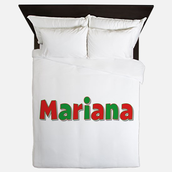 Mariana Christmas Queen Duvet