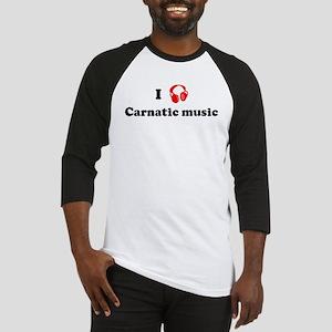 Carnatic music music Baseball Jersey