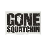 Gone Squatchin Rectangle Magnet
