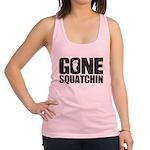 Gone Squatchin Racerback Tank Top