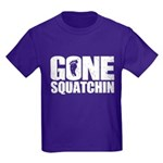 Gone Squatchin Kids Dark T-Shirt