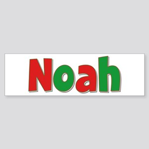 Noah Christmas Bumper Sticker