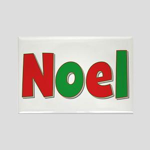 Noel Christmas Rectangle Magnet